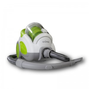 Aspirador Orima 750W S/Saco 2.5L - Branco/Verde