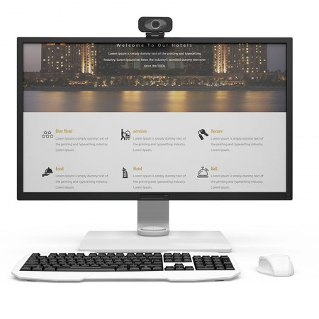 Webcam c/ Microfone Imilab - Full HD 90º