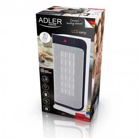 Adler Torre Ventoinha Aquecedor Cerâmica 2000W - AD7723