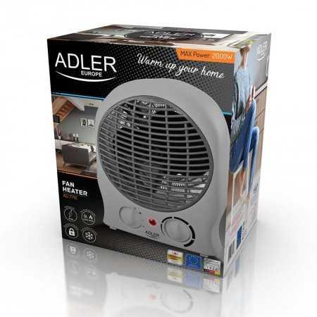Adler Ventoinha Aquecedor 2000W Branco - AD7716