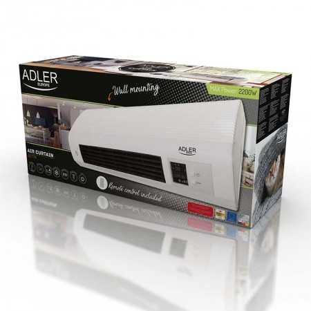 Adler Aquecedor Digital Split Cerâmico 2200W Branco - AD7714
