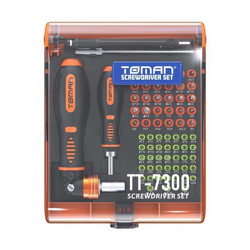 Toman 73 Pcs Screwdriver Set - TT-7300