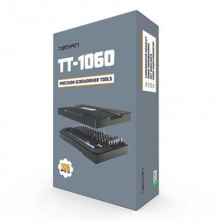 Toman 106 Pcs Precision Screwdriver Tool - TT-1060