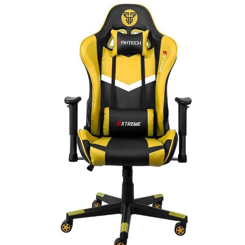 Cadeira Gaming Fantech Extreme Amarelo - GC180Y