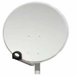 Antena satélite ferro 80cm...