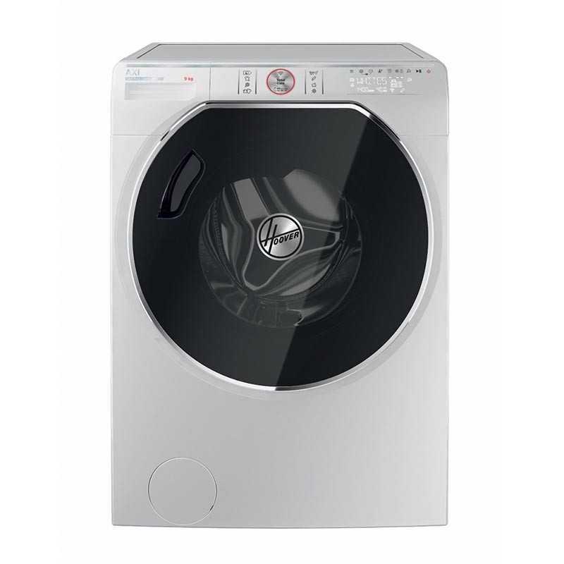 Máquina de Lavar Roupa Wi-Fi Hoover AWMPD 49 LH7/1 + Aspirador Hoover