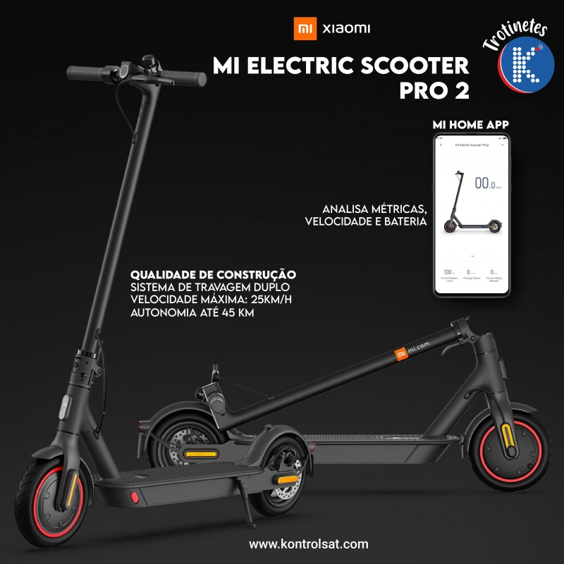 Xiaomi Trotinete Mi Electric Scooter Pro 2