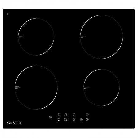 Placa de Indução Silver 4 Zonas - SKPI4FLK
