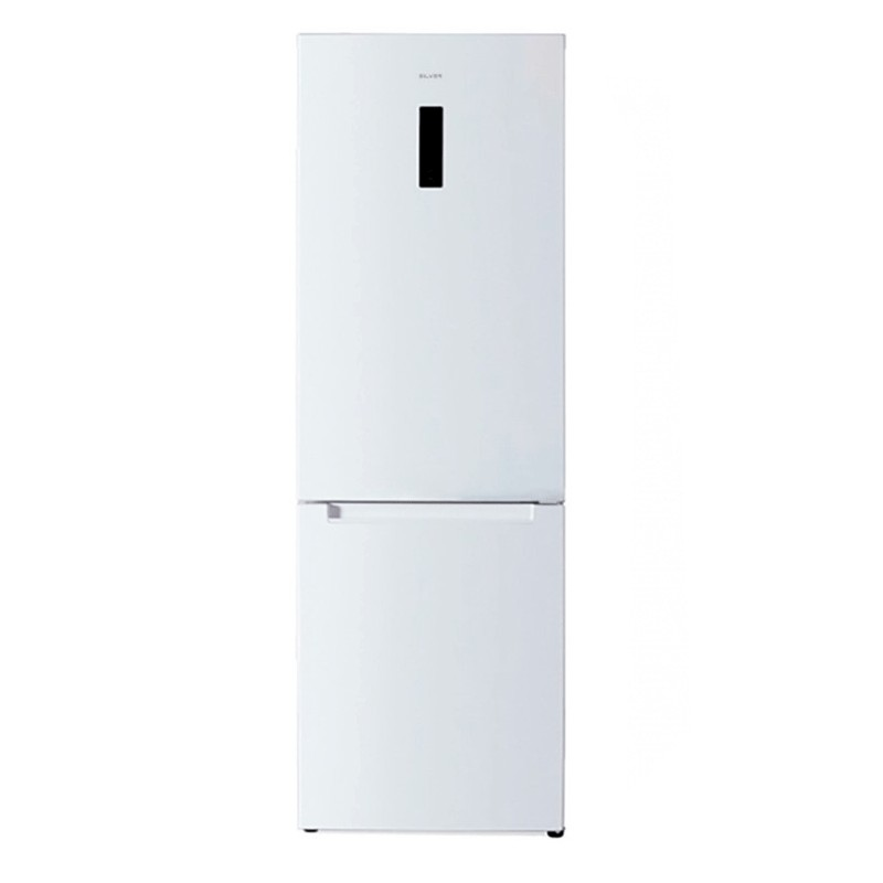 Combined Refrigerator- Silver- 337 Liters