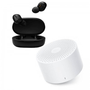 Xiaomi Audio Kit- True Wireless Earbuds 2 + Mi Compact Speaker 2
