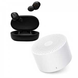 Kit som Xiaomi-  True Wireless Earbuds 2 + Mi Compact Speaker 2