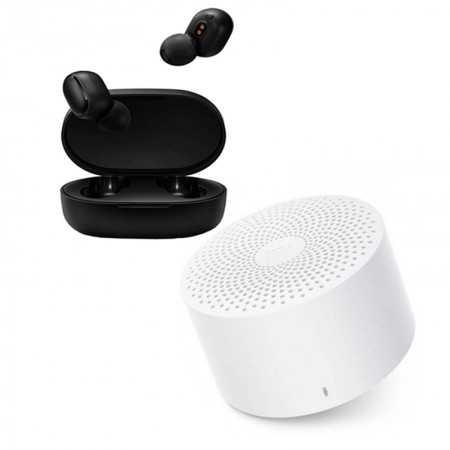 Kit som Xiaomi-  True Wireless Earbuds 2 + Mi Compact Speaker 2