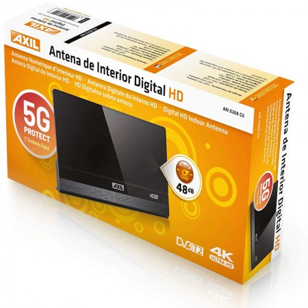ANTENA ELECTRONICA TV DIG TERR HD-5G (AXIL)