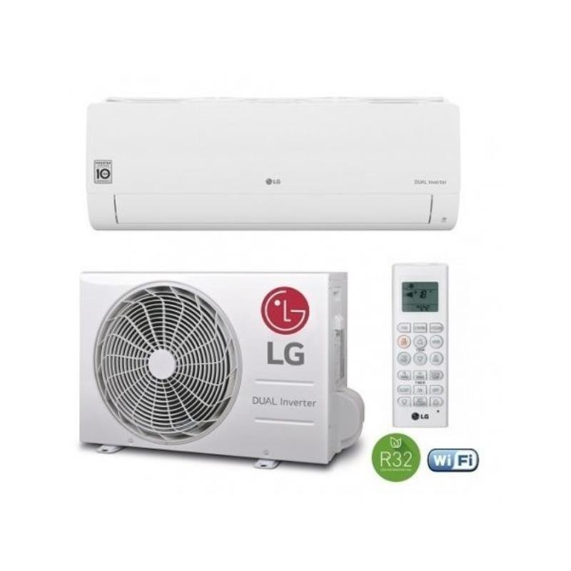 Ar Condicionado LG S24ETNSK + S24ETU24 - 24.000 BTU