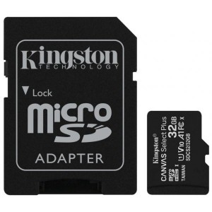 Cartão Micro SD Kingston...