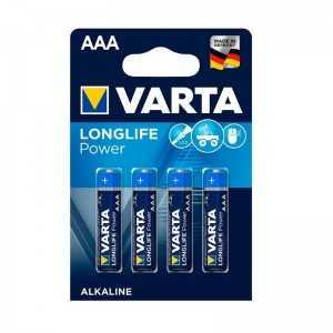 Pilhas Varta Longlife AAA -...