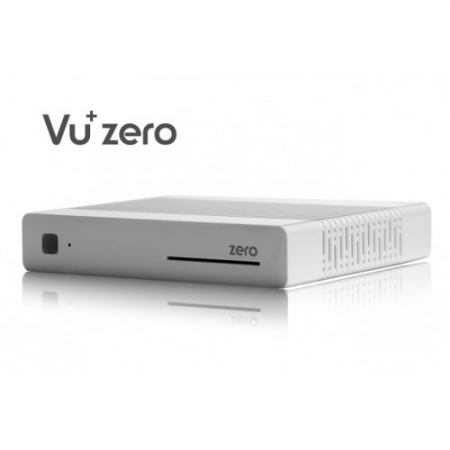 Recetor SAT Vu+ Zero Cor Branco