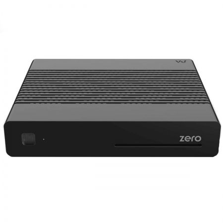 Vu+ Zero Preto Recetor SAT