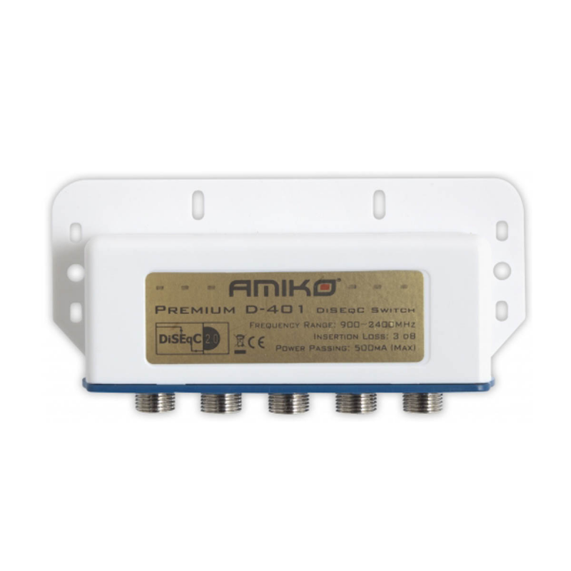 DiSEqC Exterior 4 portas 2.0 Switch