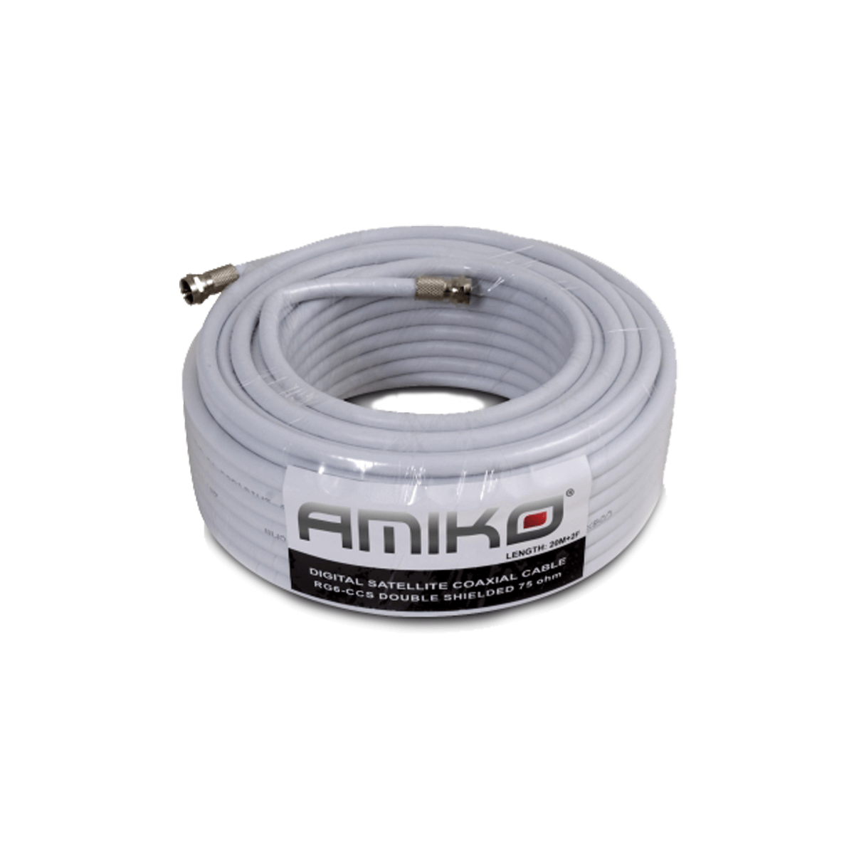 Amiko Coaxial Cable RG6 20M