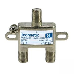 Repartidor 2 vias, Technetix - BESL-02 Baseline