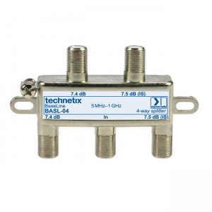Repartidor 4 vias, Technetix - BESL-04 - Baseline