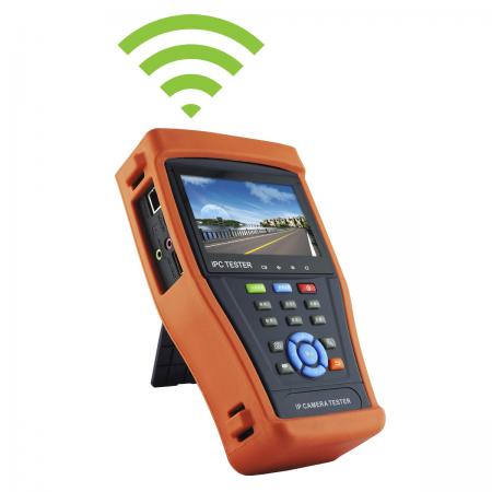 Testador IPCAM Amiko LS-K4300PA (IP & AHD)