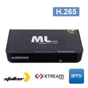 RECETOR MULTIMEDIA IPTV ML7000 MEDIALINK