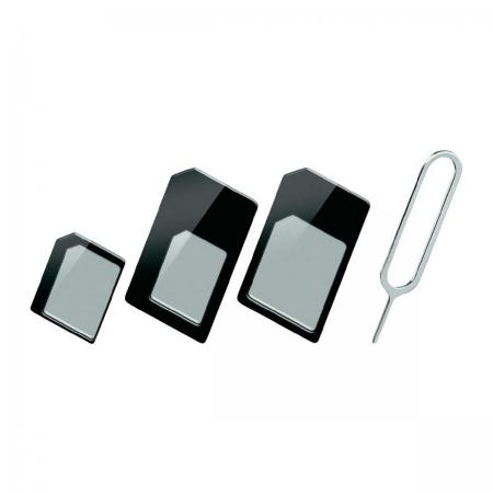 Adaptador de Cartão SIM (Nano, Micro, Formato Normal)