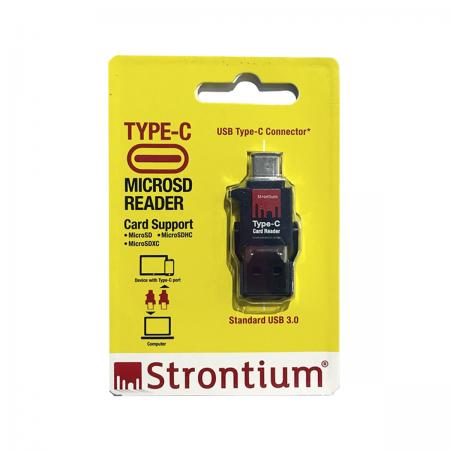 Leitor de Cartão USB Tipo-C