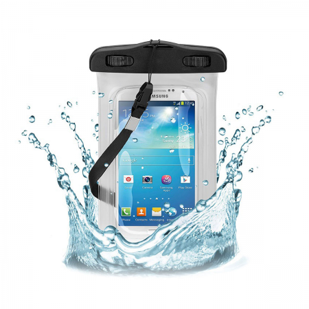"Waterproof Seal Case for 5"" Display Smartphones"