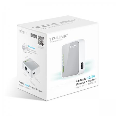 Router Portátil 3G/4G Wireless-N