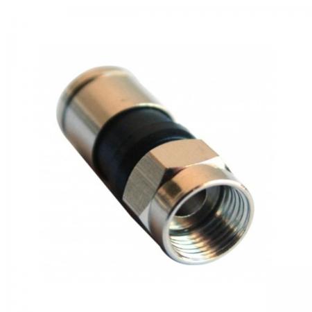 Conector de compressão RG6 - Saco 25un.