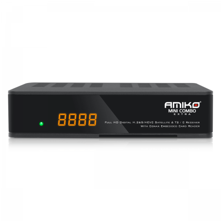 Amiko Mini Combo Extra SAT & Cabo/TDT