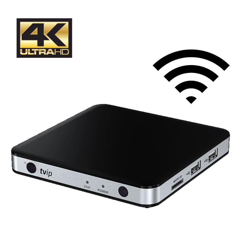 IPTV STB TVIP 605 Wi-Fi 4K