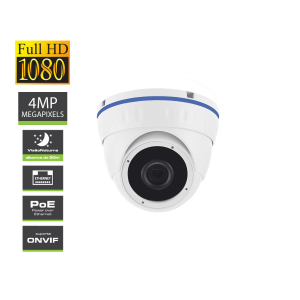 IPCAM 4MP 20m Night Vision In/Out POE Amiko D20V400