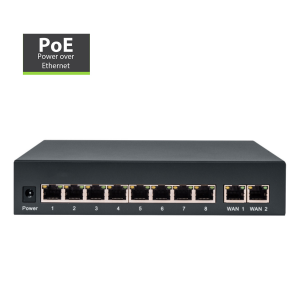 Switch Rede PoE Amiko LS-RT812