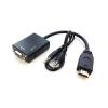 Adaptador de Vídeo HDMI-M para SVGA-H