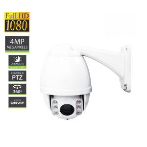 IP Camera In/Outdoor 4MP Dome PTZ 360º
