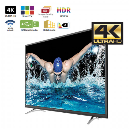 "Smart TV Ultra HD 4K 49"" DVB-T/T2/C/S/S2 Strong"