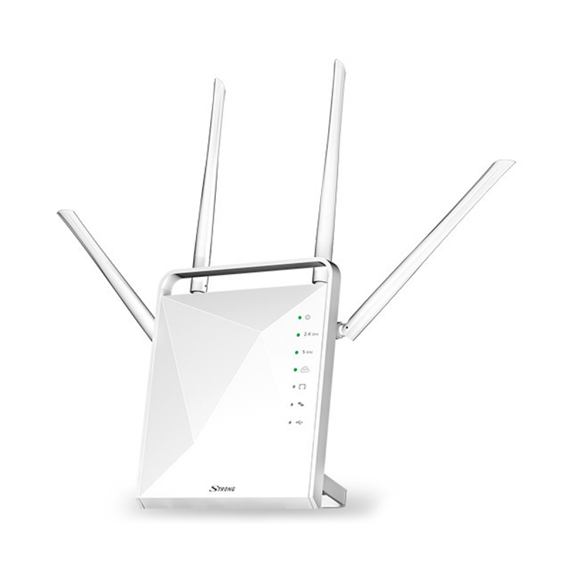 Router Dual Band Gigabit 1200Mbps Strong
