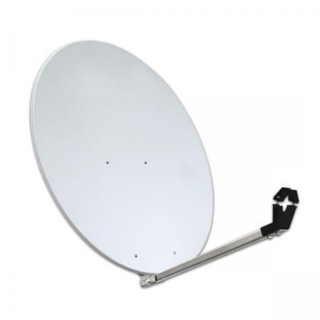 Antena Parabólica 80cm Alumínio Cinza até 83º