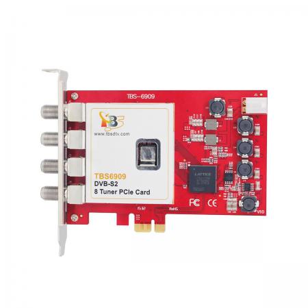 Placa TV TBS 6909 PCI Express Octo Tuner DVB-S/S2