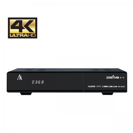 ZGemma H7S 4K Dual SAT & Cabo/TDT