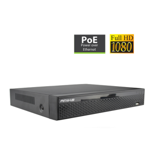 IP/Analogue NVR Amiko XVR8A/32IP 32IP + 8 Analogue Channels POE