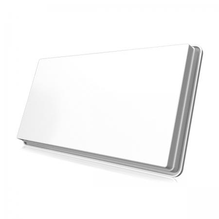 Antena Satélite Flat Slimsat com LNB Twin