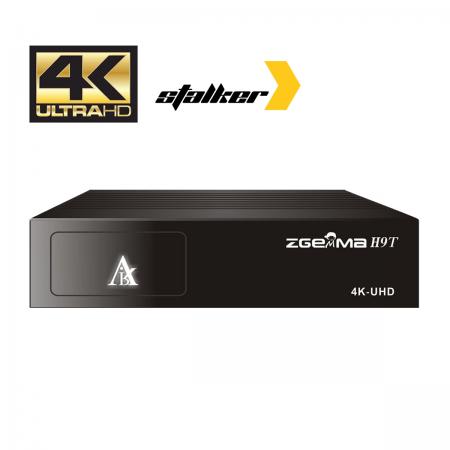 ZGemma H9T 4K Recetor Cabo/TDT & IPTV