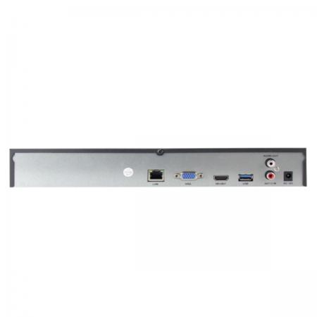 NVR AMIKO 4X RJ45 ATÉ 36 CANAIS H.264/H.265 4K SUPORTA ATÉ 2 HDD 2X USB