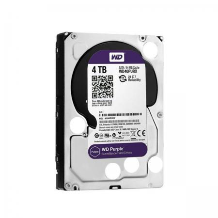 "Disco Duro HDD SATA III 4TB 3.5"" WD Purple"