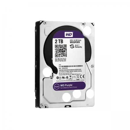 "Disco Duro HDD SATA III 2TB 3.5"" WD Purple"